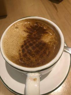 latte pineapple