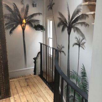 palm stairs